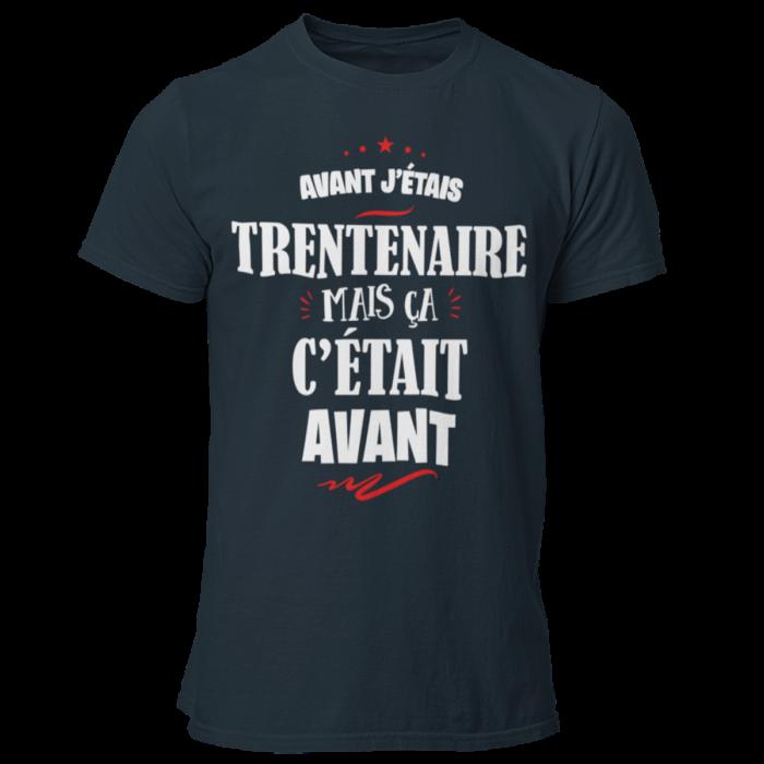 T-SHIRT ANNIVERSAIRE AVEC MOIS DE NAISSANCE-T-SHIRT AVANT J'ÉTAIS-
