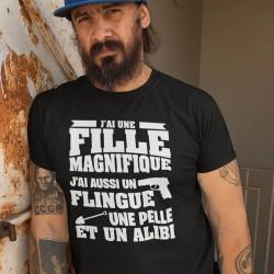 TEE-SHIRT FÊTE DES PÉRES- PAPA ALIBI