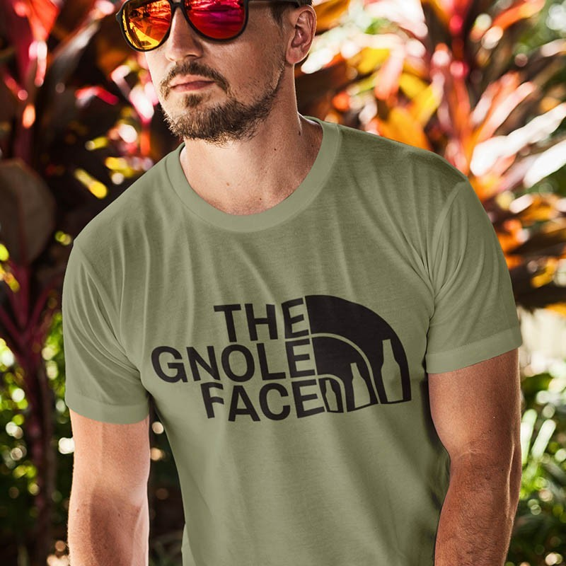 TEE-SHIRT HUMOUR HOMME - THE GNOLE FACE
