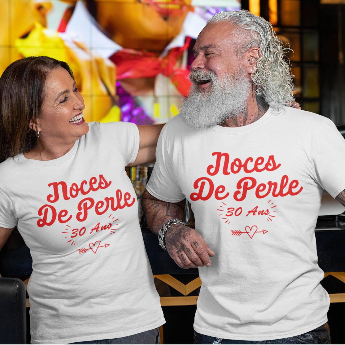Duo tee-shirt pour fêter les Noces